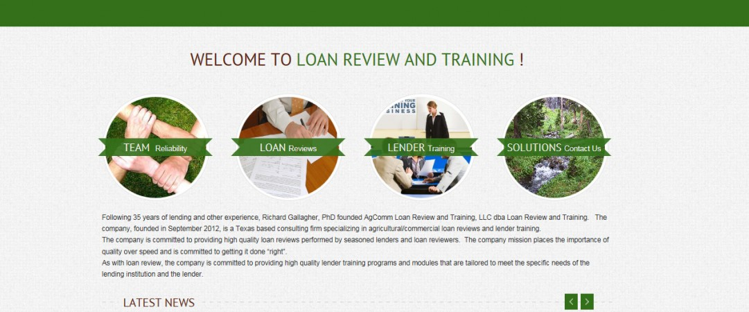Loan Review and Training